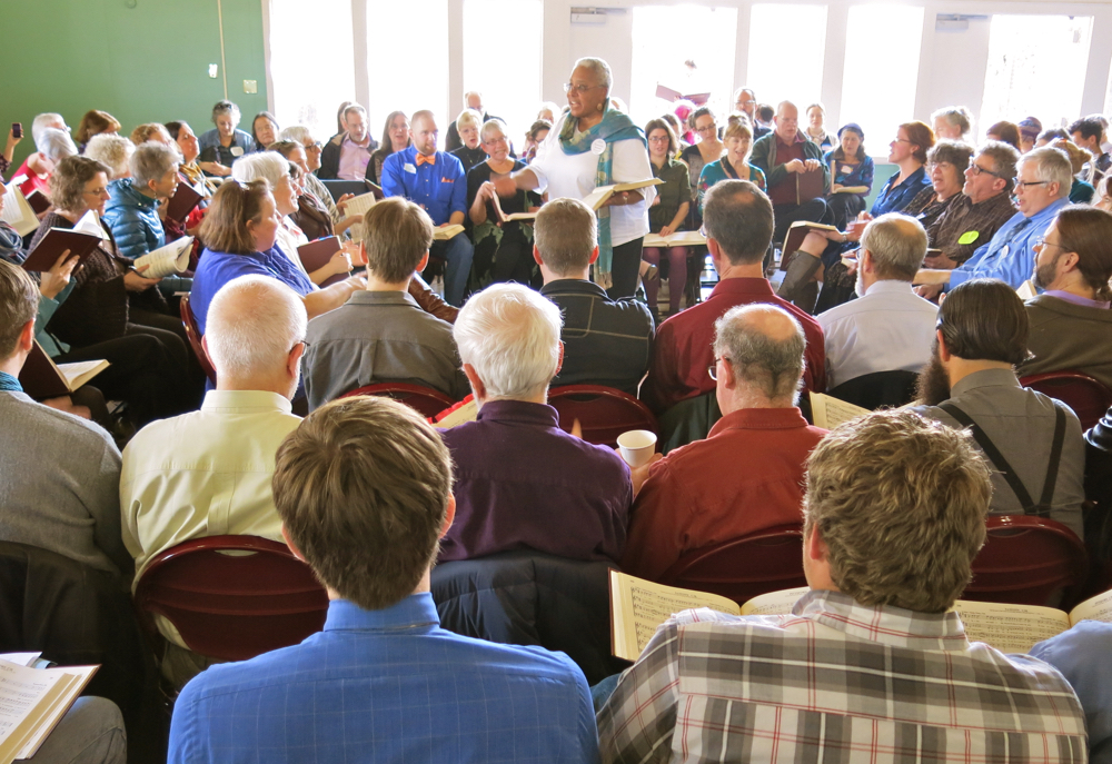 All California Sacred Harp Convention, 2015